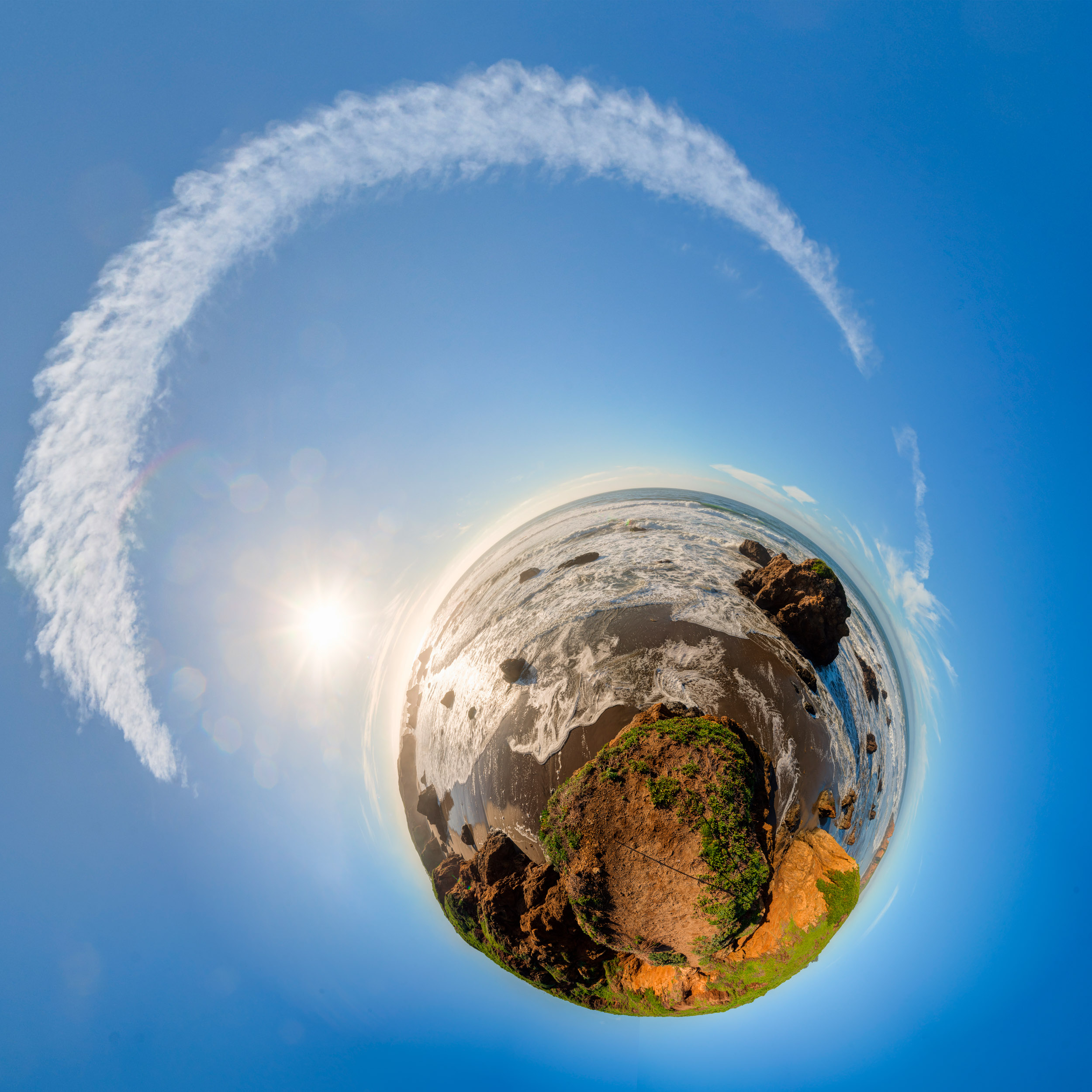 Sea Cliff Planet (untitled)