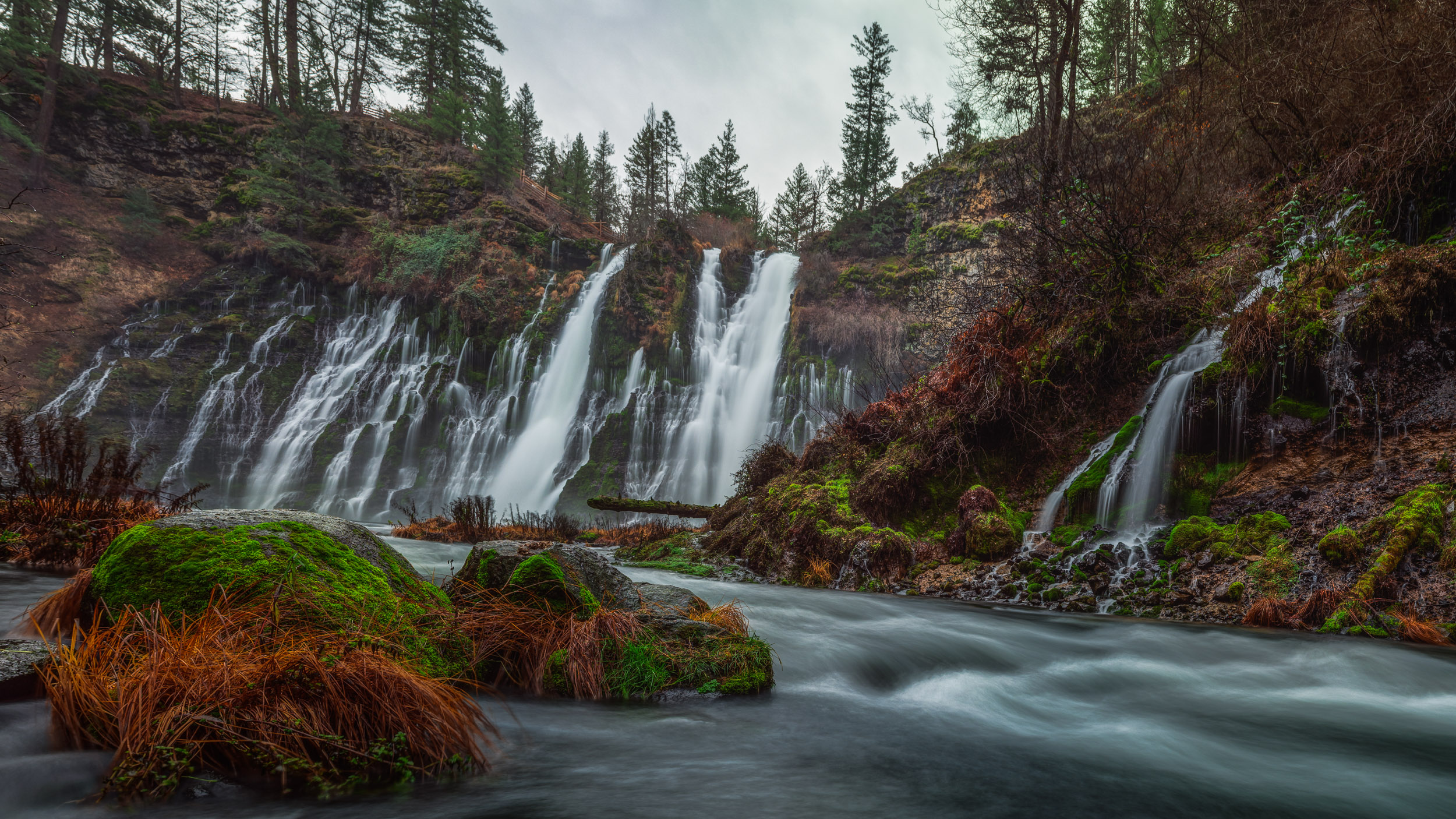 Burney Falls (untitled)
