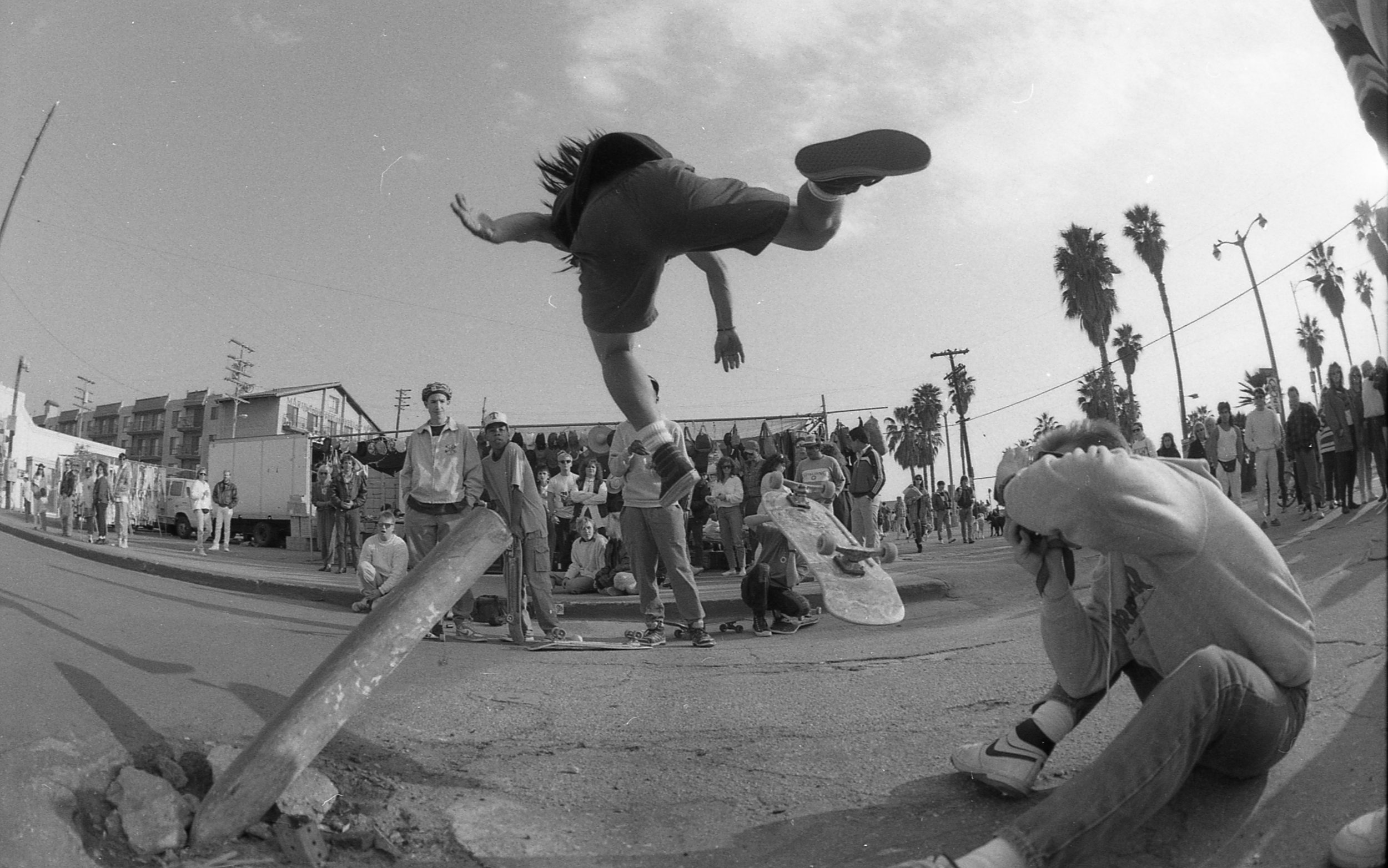 "Josh ""Bagel"" Klassman, JH & CK, Pole Jam Bail, 1980z"