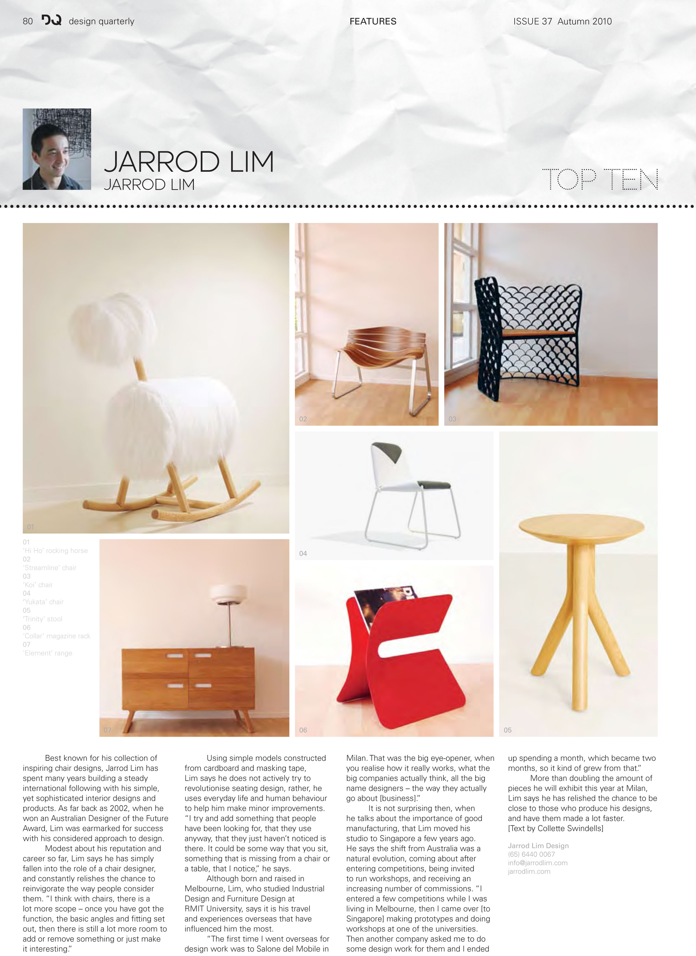 DQ Magazine Top Ten - 2010