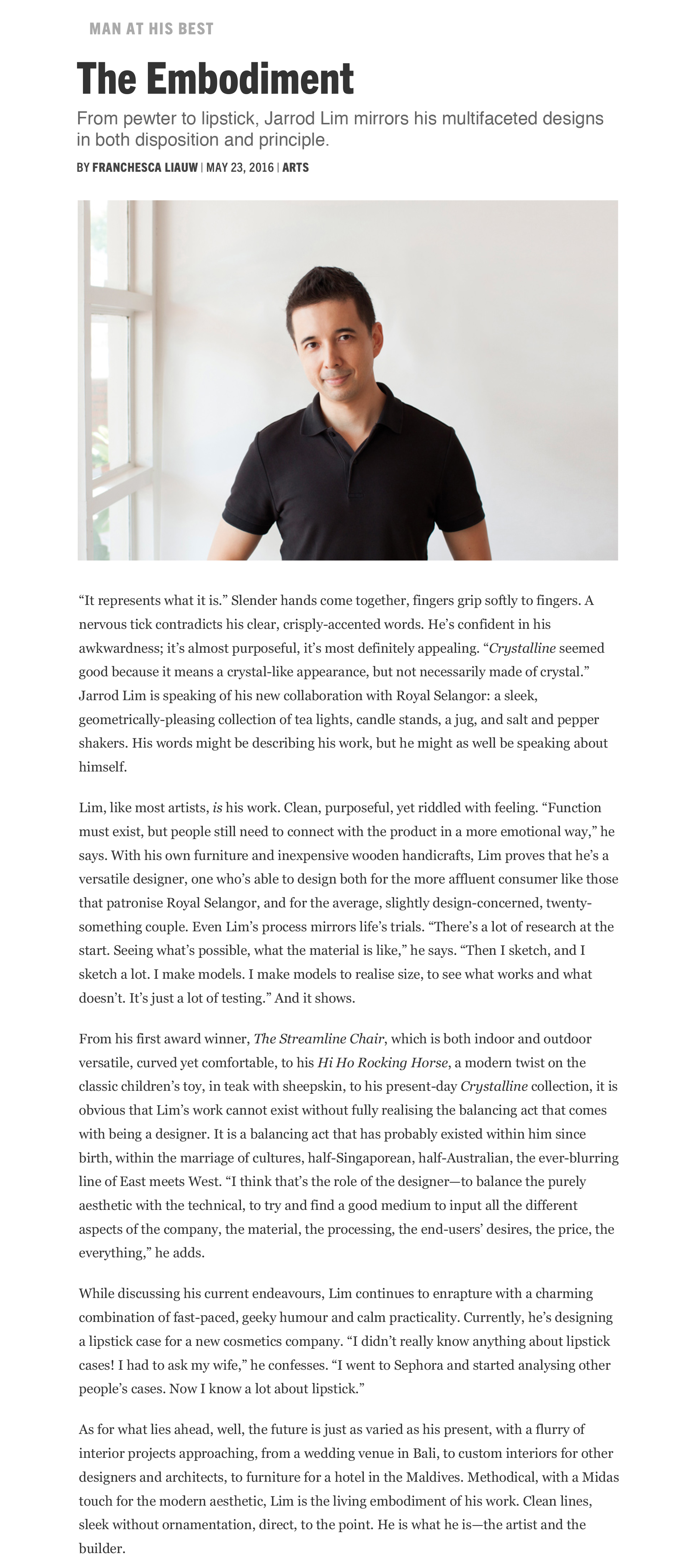 Esquire Magazine 2016