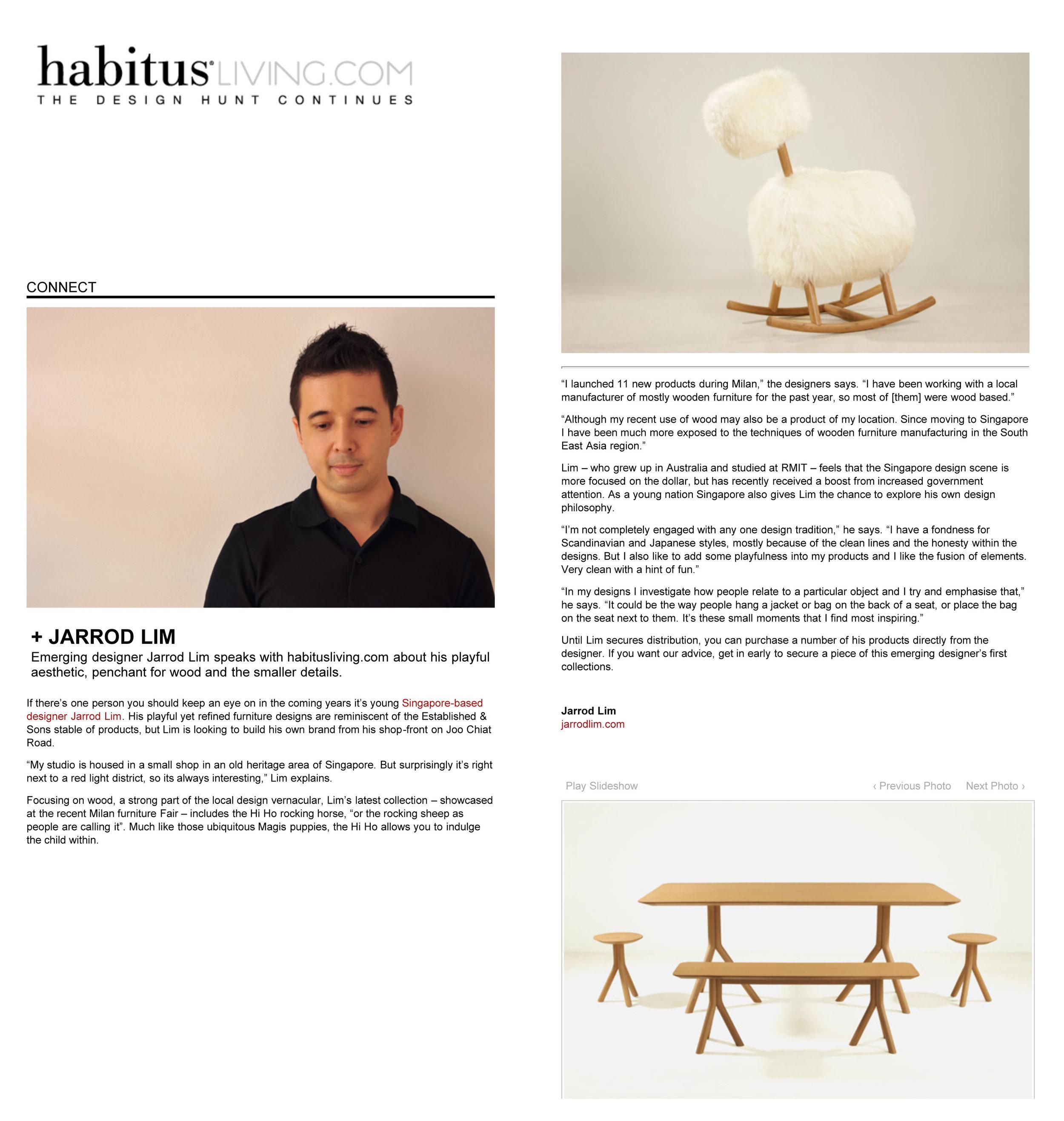 Habitus living May 2010
