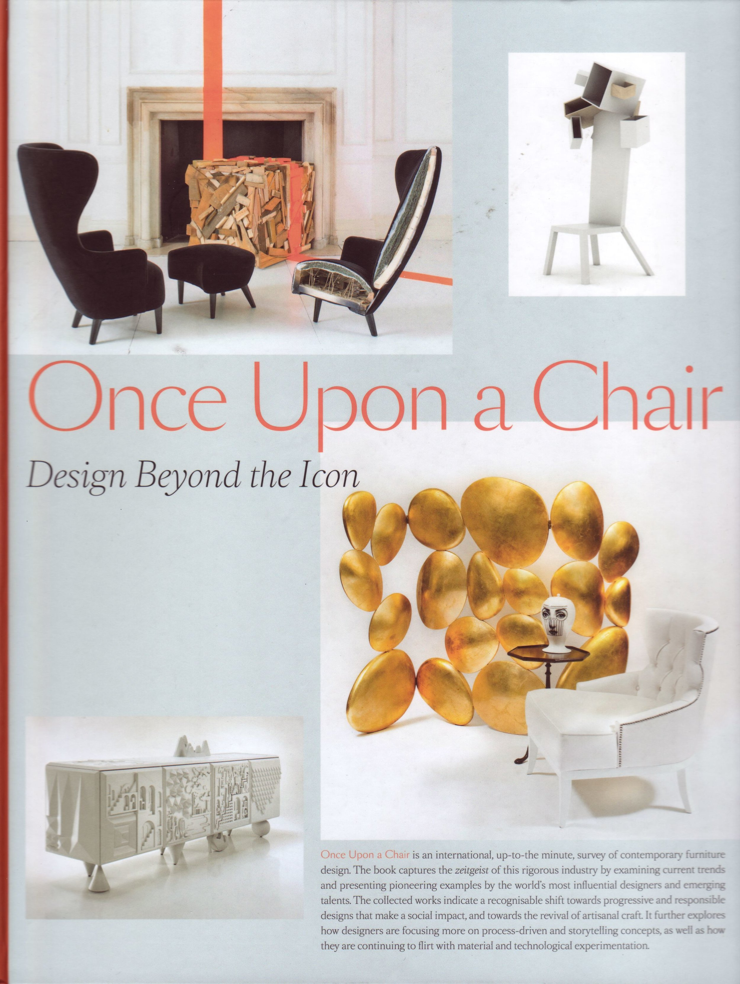 Once upon a chair Book - Artpower Publishing