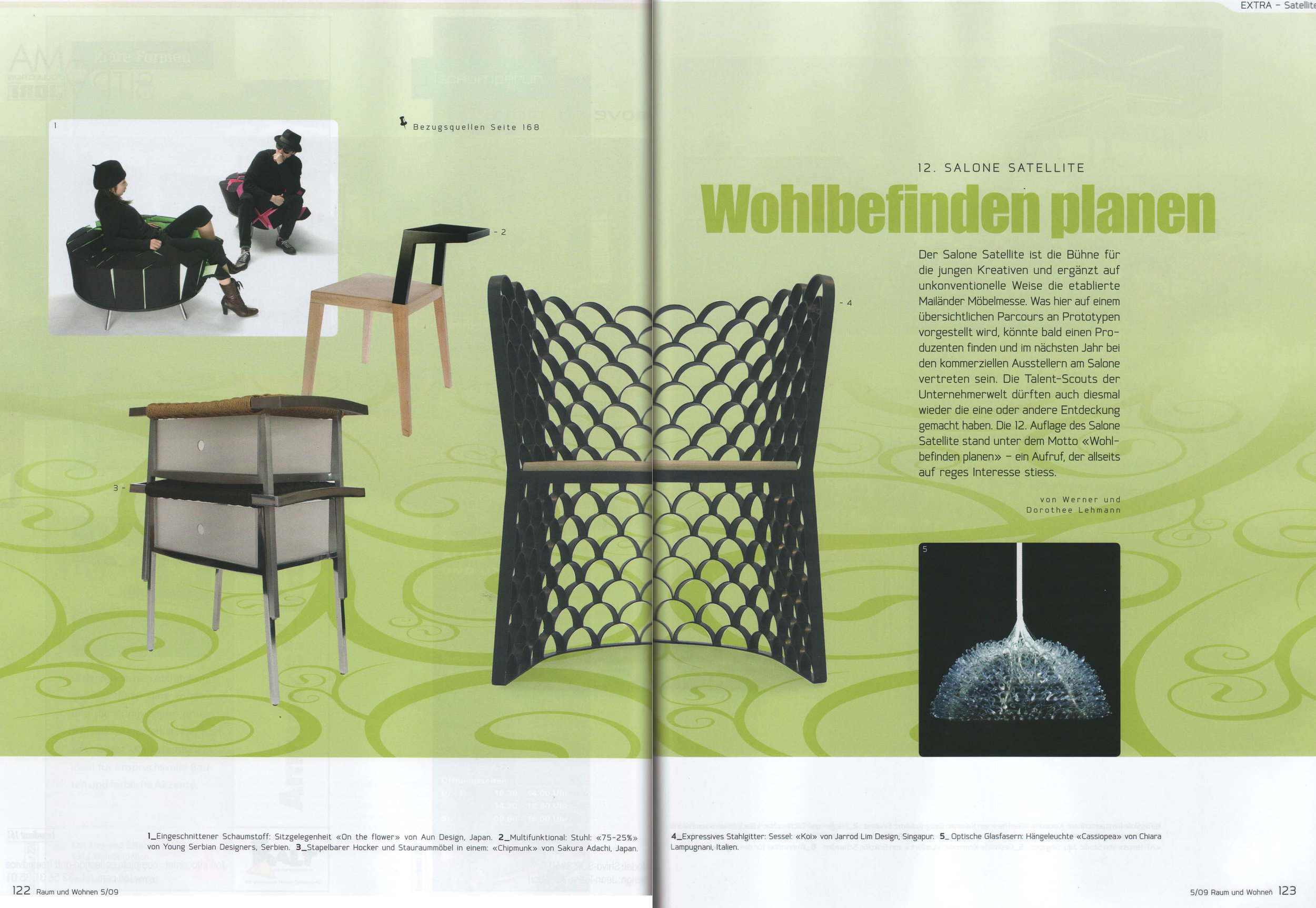 Raum und wohnen - September 2011