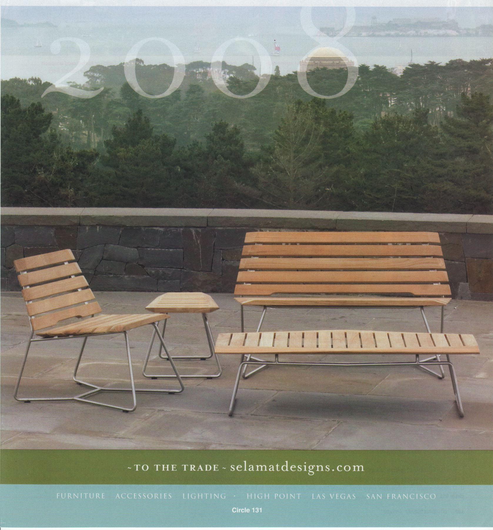 Interiors Magazine Selamat Advertisement