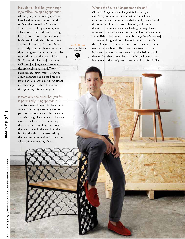 Style Living Magazine - 2009
