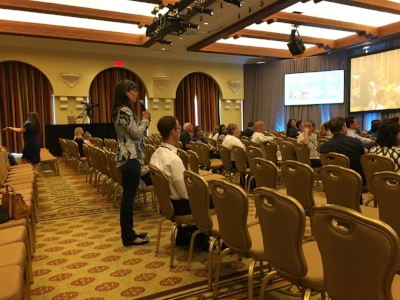 Looks empty, but this was the main ballroom and it is HUGE!