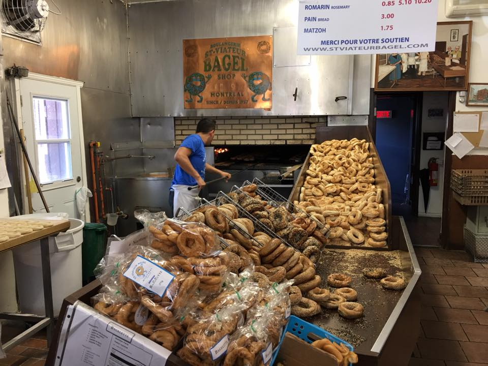St-Viateur Bagels. Céline visited later.