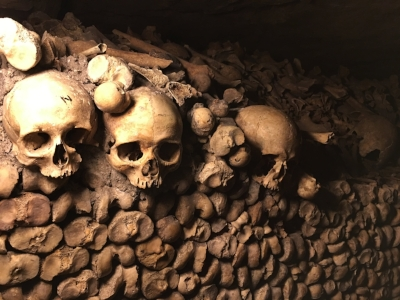 The cemeteries of Paris had to be moved underground. Why?