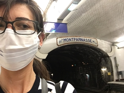 I wish I were riding the Paris Metro right ow.
