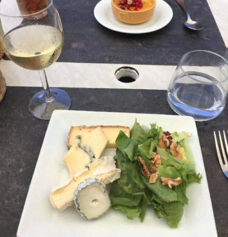 I do miss dining in France.