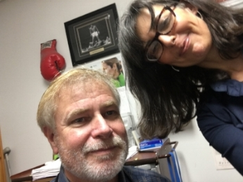 Dr. Plance has no patience for my selfie addiction.