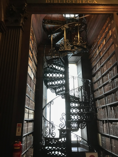 The Library at Trinity College, Dublin.