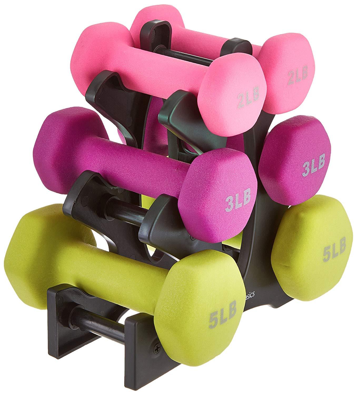 I love light weights! -