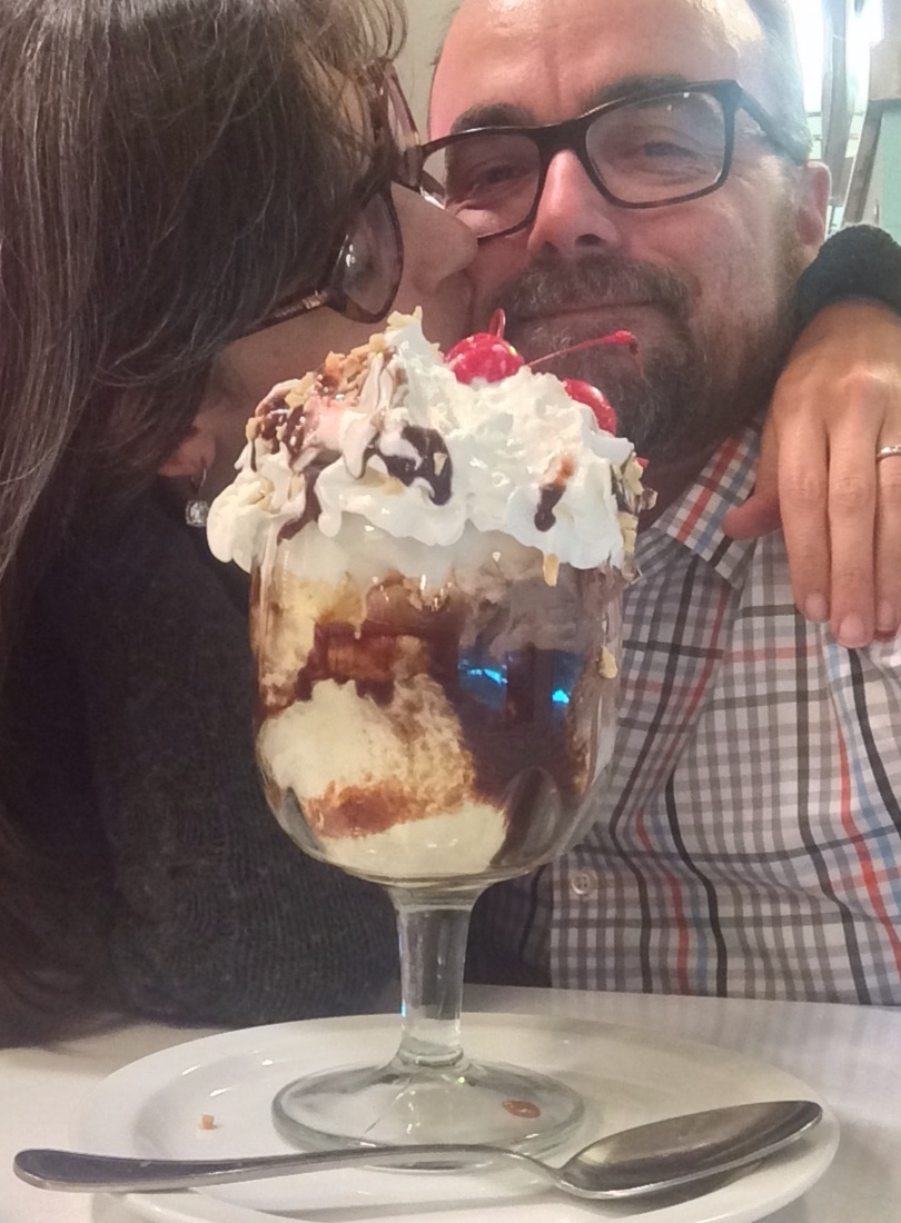 Two scrumptious desserts. -