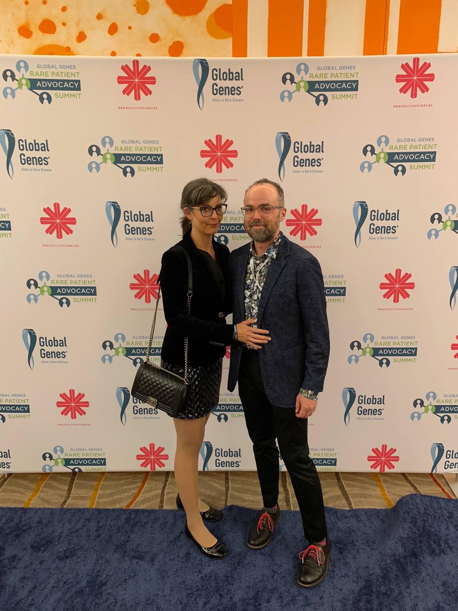 At  Global Genes 2018
