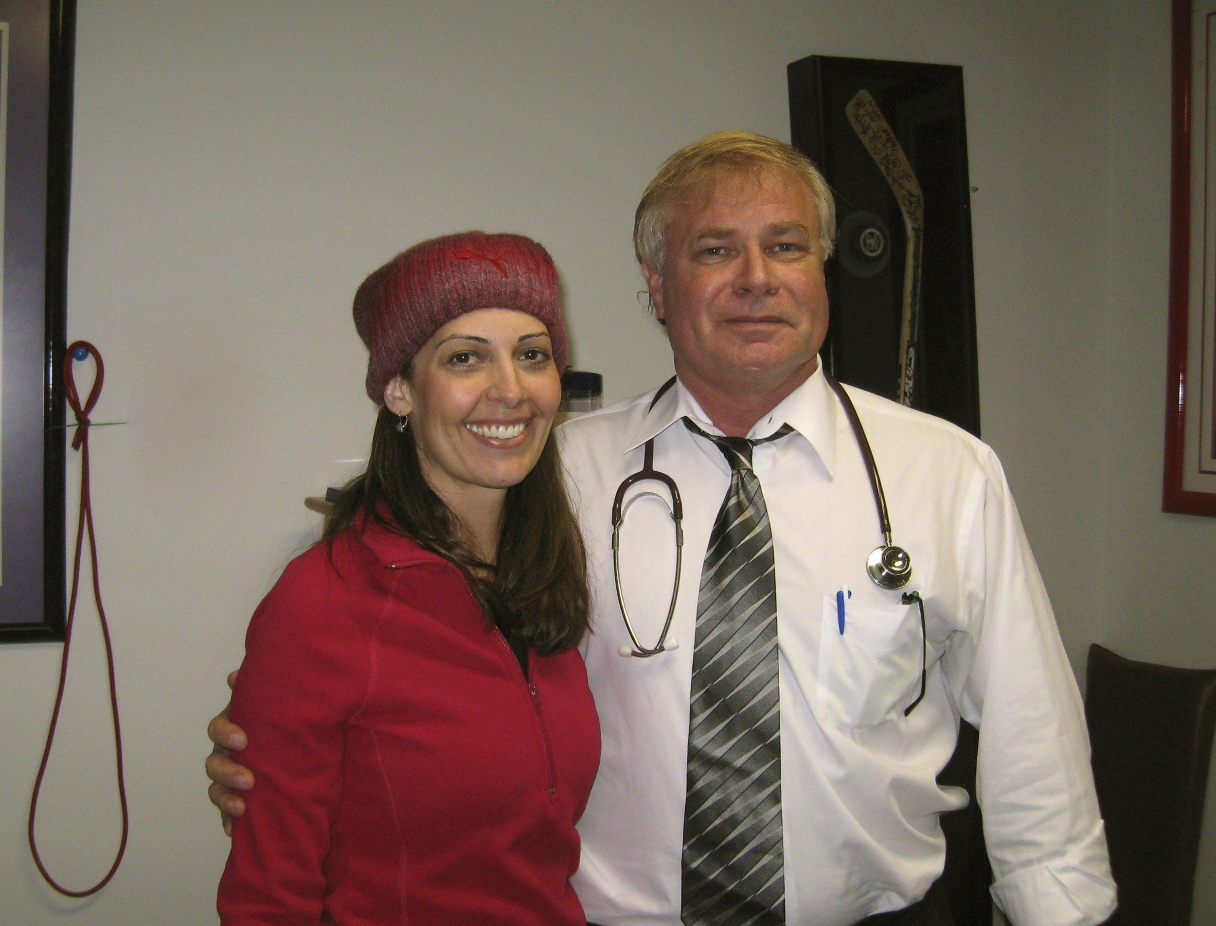 Me & Dr. Plance circa 2011