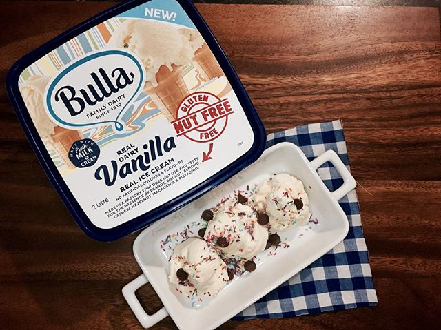 Head over to my blog to checkout my write up on the brand new @bullafamilydairy  Nut Free Ice cream! 🤗🍦 link ink bio!