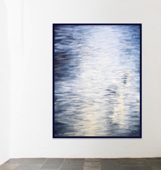 Composition in Blue No. 7
