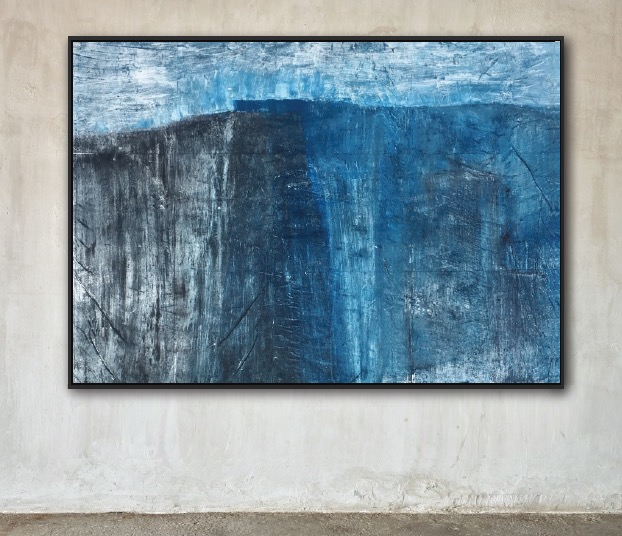 Composition in Blue No. 3