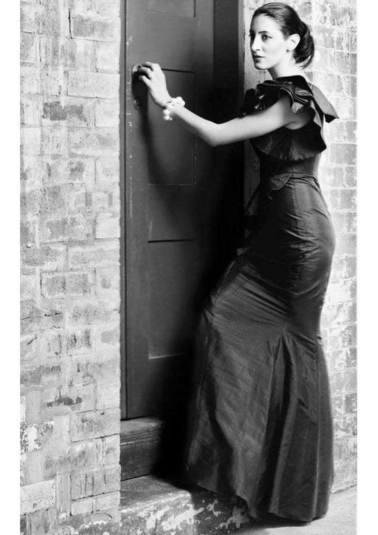 Lena Kasparian photographed by D'Avino