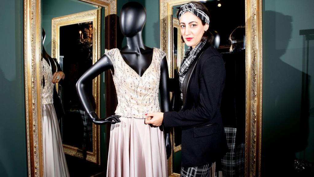 Parramatta's Lena Kasparian's chic bridal boutique set for the runway -