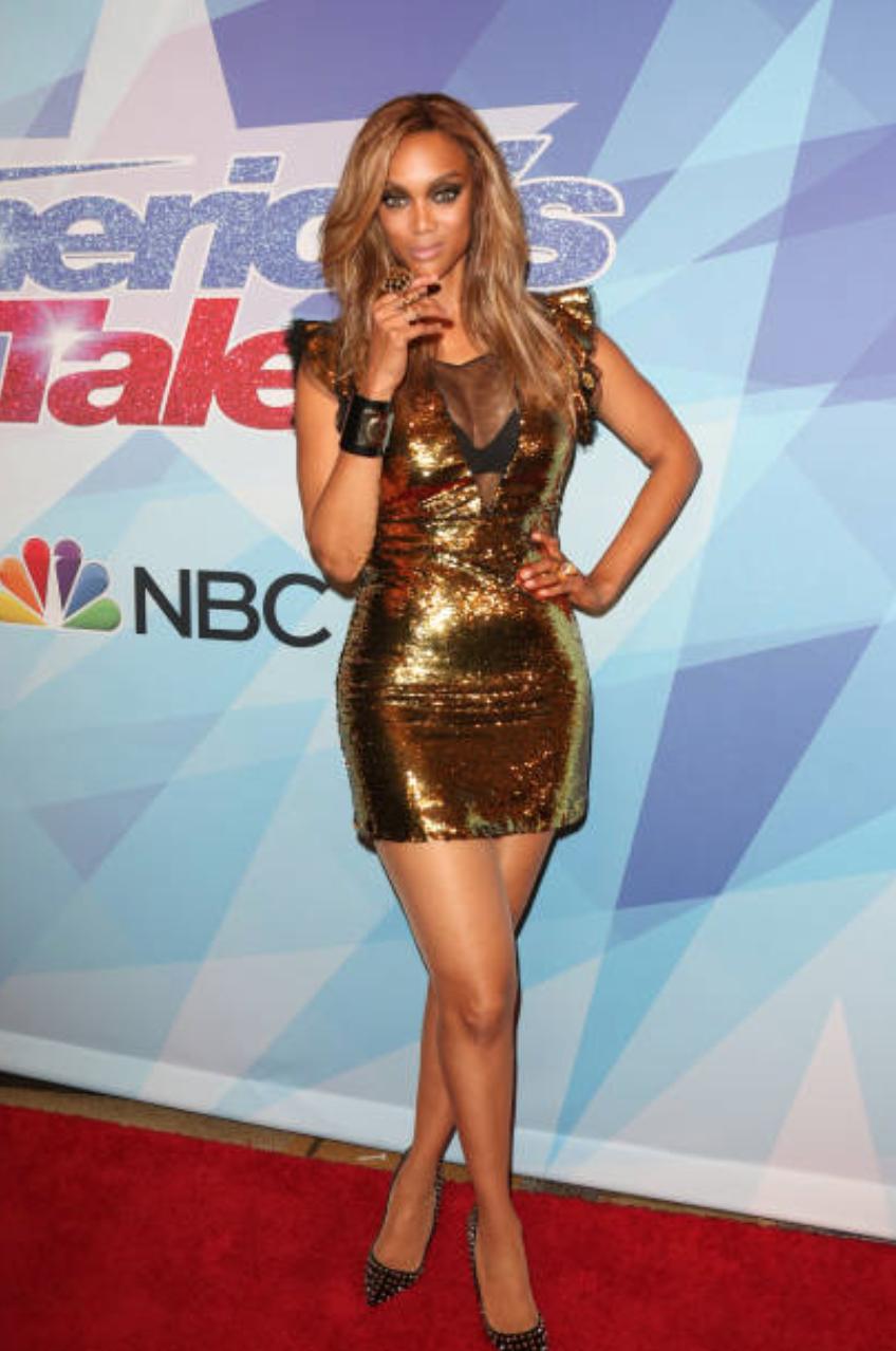 Tyra Banks, host of NBC's America's Got Talent. - Instagram: @TyraBanks