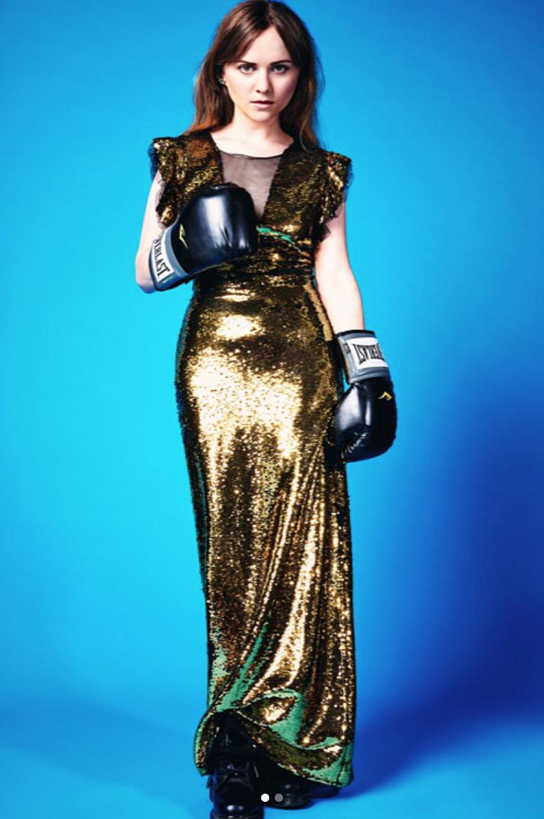Tara Lynne Barr featured in Vulkan Magazine -