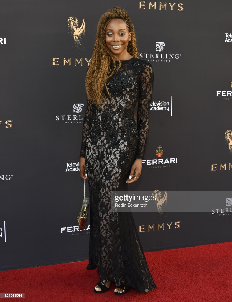 Erica Ash attends 69th Los Angeles Area Emmy Awards at Television Academy in Los Angeles. -