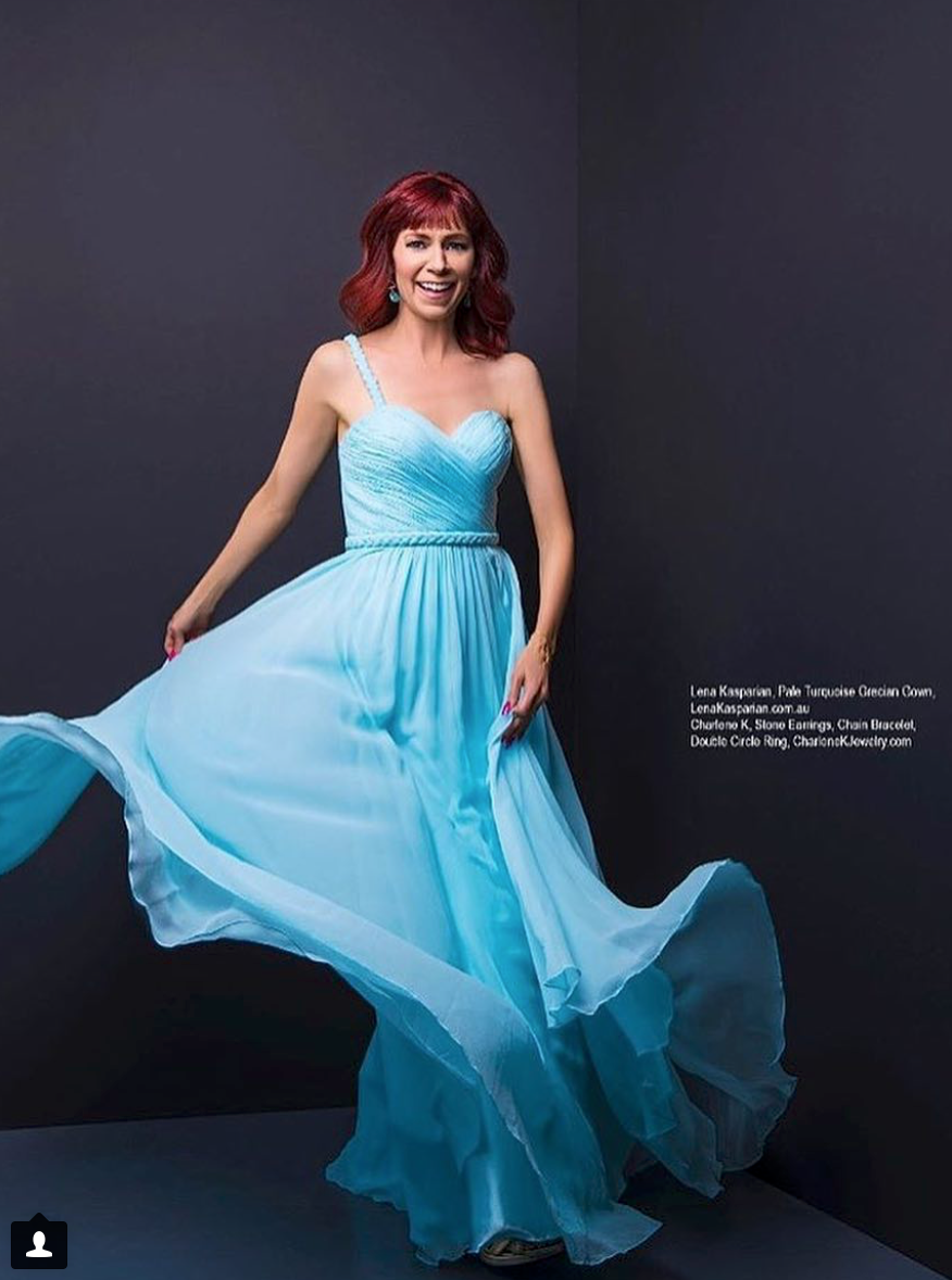Carrie Preston from TNT's CLAWS is featured in REGARD Magazine. -