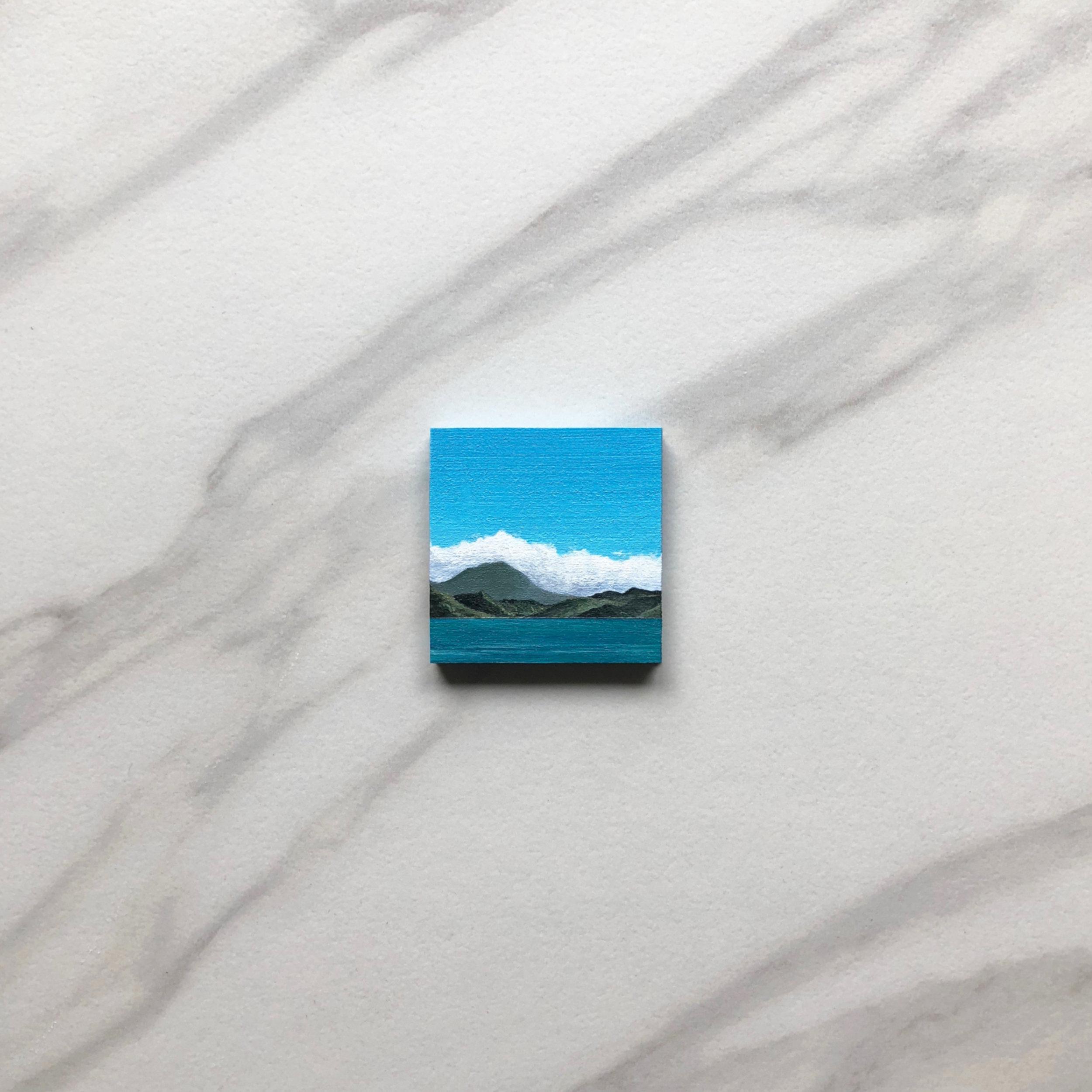 Tiny & Tropical,  Acrylic, 2018
