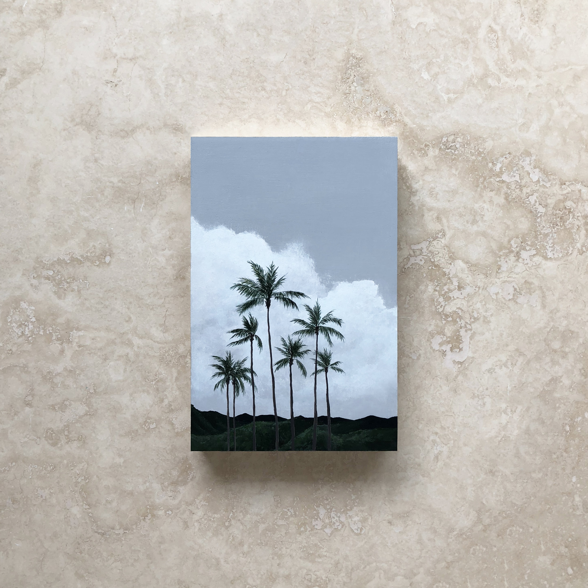 Vacation Forever,  Acrylic, 2018