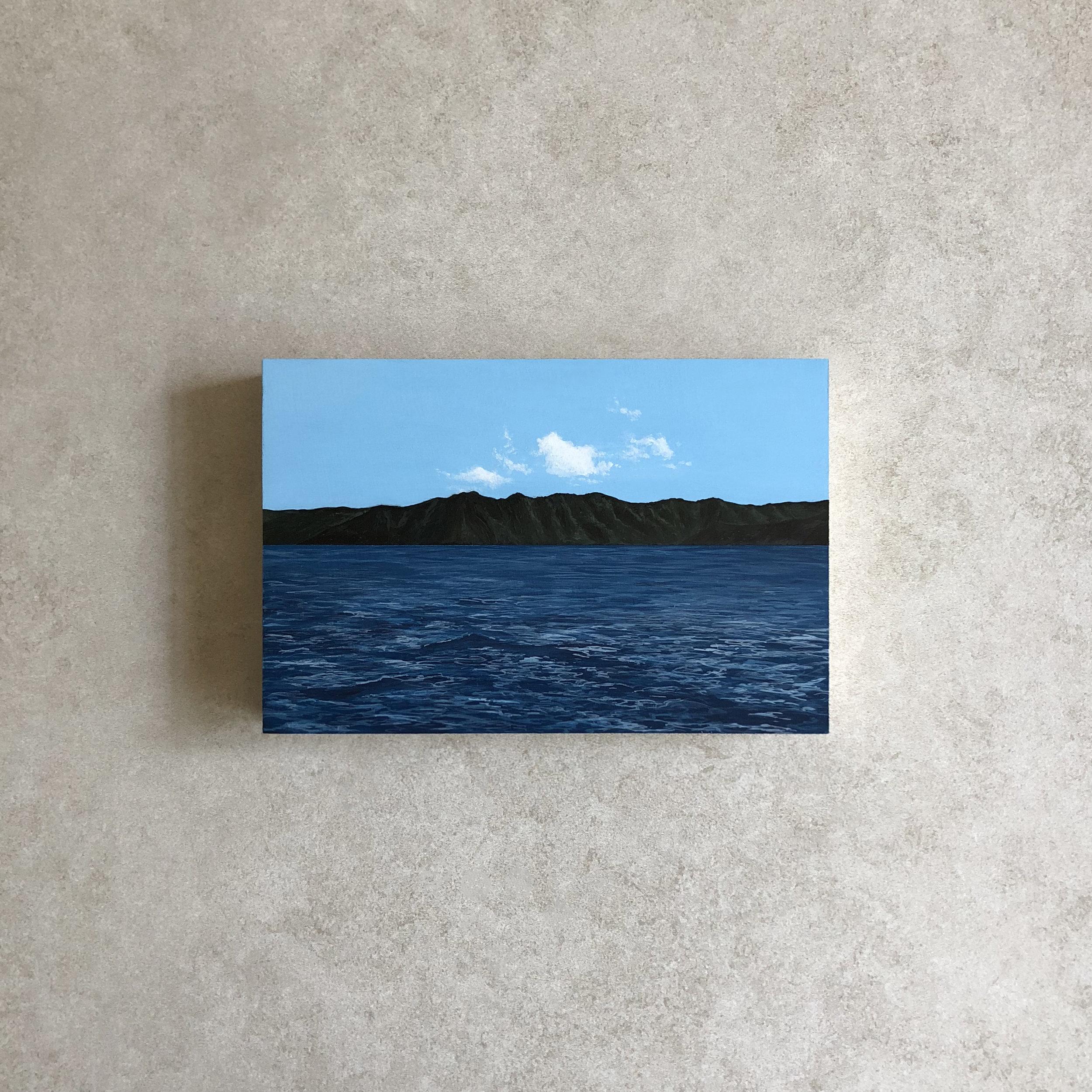 Secrets,  Acrylic, 2018