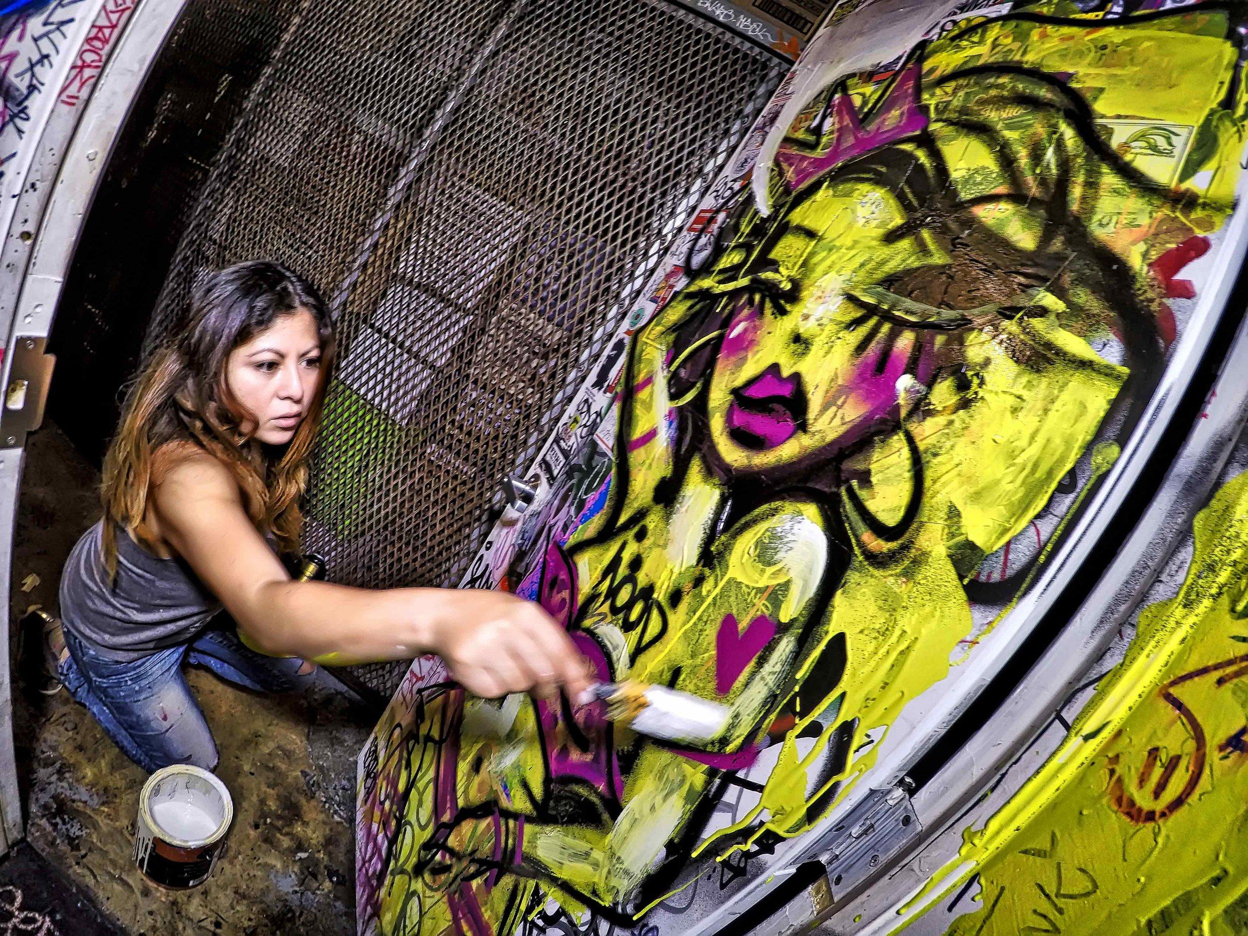 Diana Contreras at Wynwood Tavern
