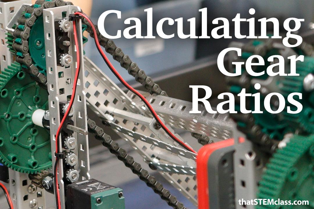 Calculating Gear Ratios | found at  thatstemclass.com