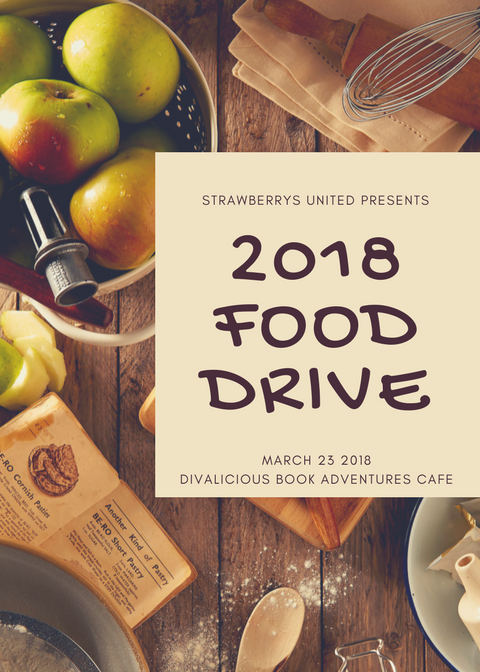 Food Drive   Location: Divalicious Book Adventures 1776 Lake Worth Road, FL 33460