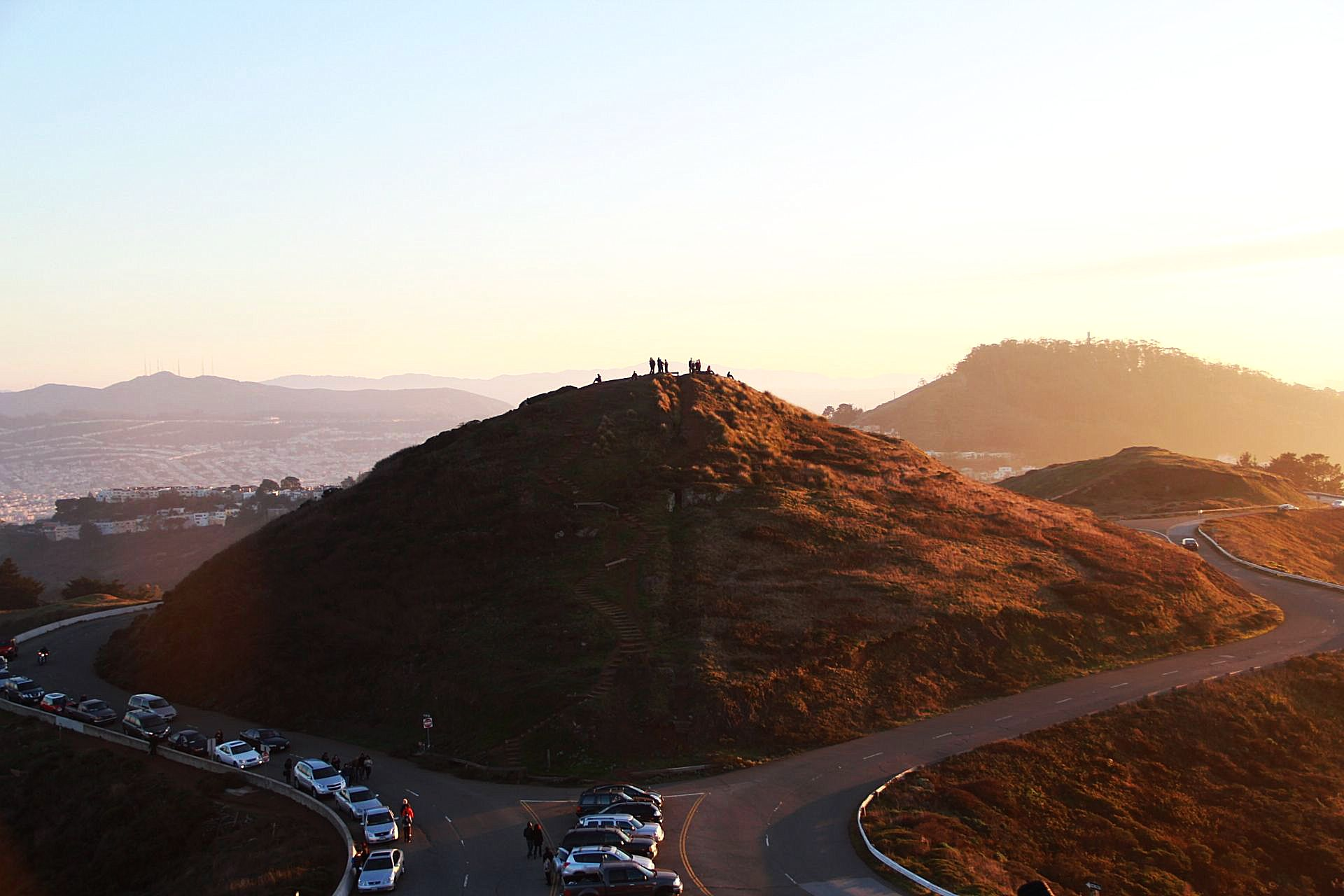 Twin Peaks at Sunset