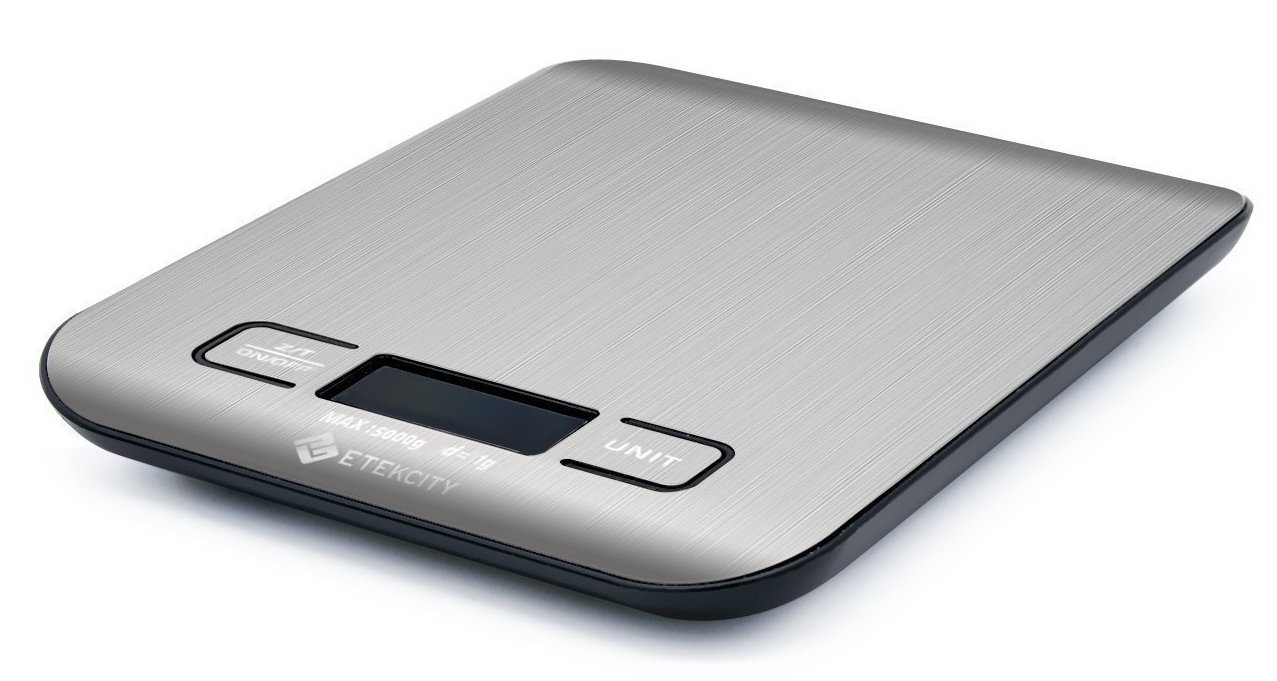 We highly recommend  weighing  your food before eating it using a simple  digital kitchen scale . We currently eat around 12 oz. per meal per person.