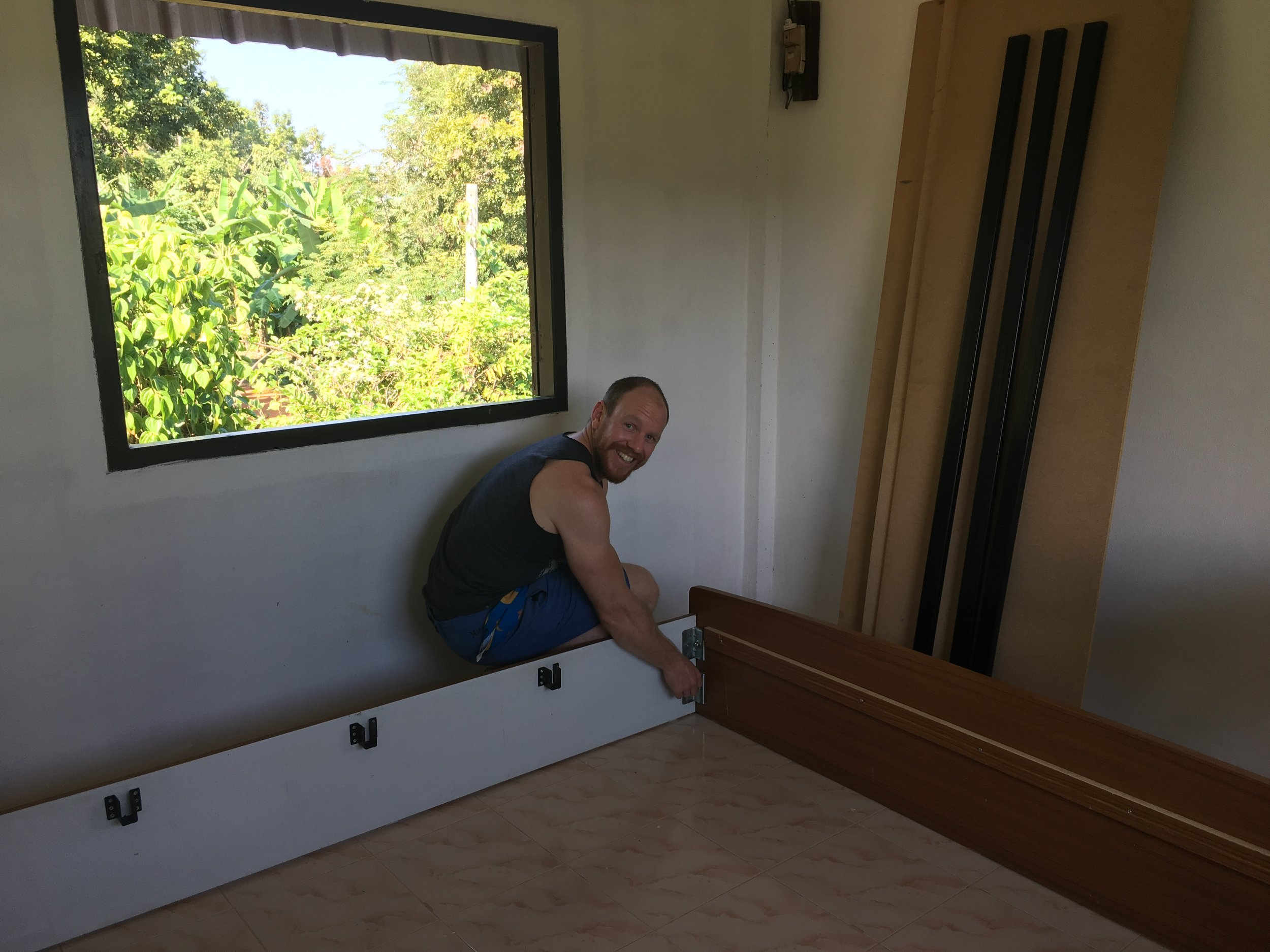 Building my bed
