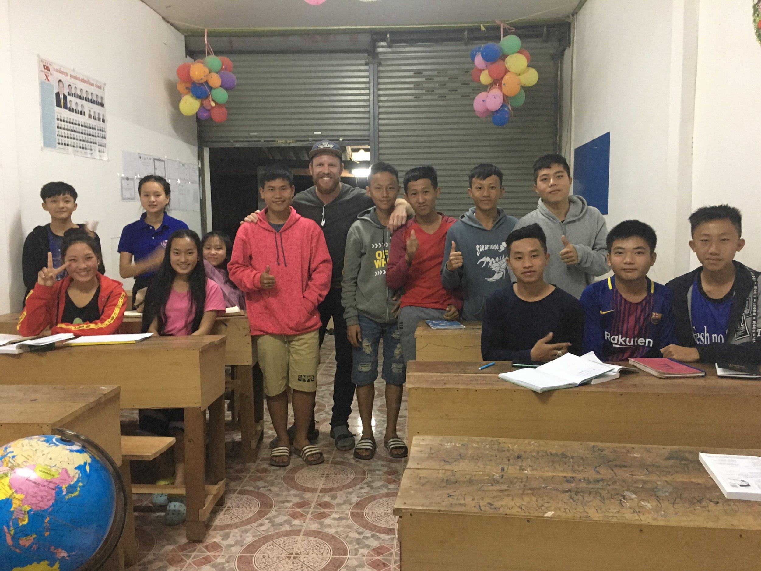 English Class of 2018 - Phonghong