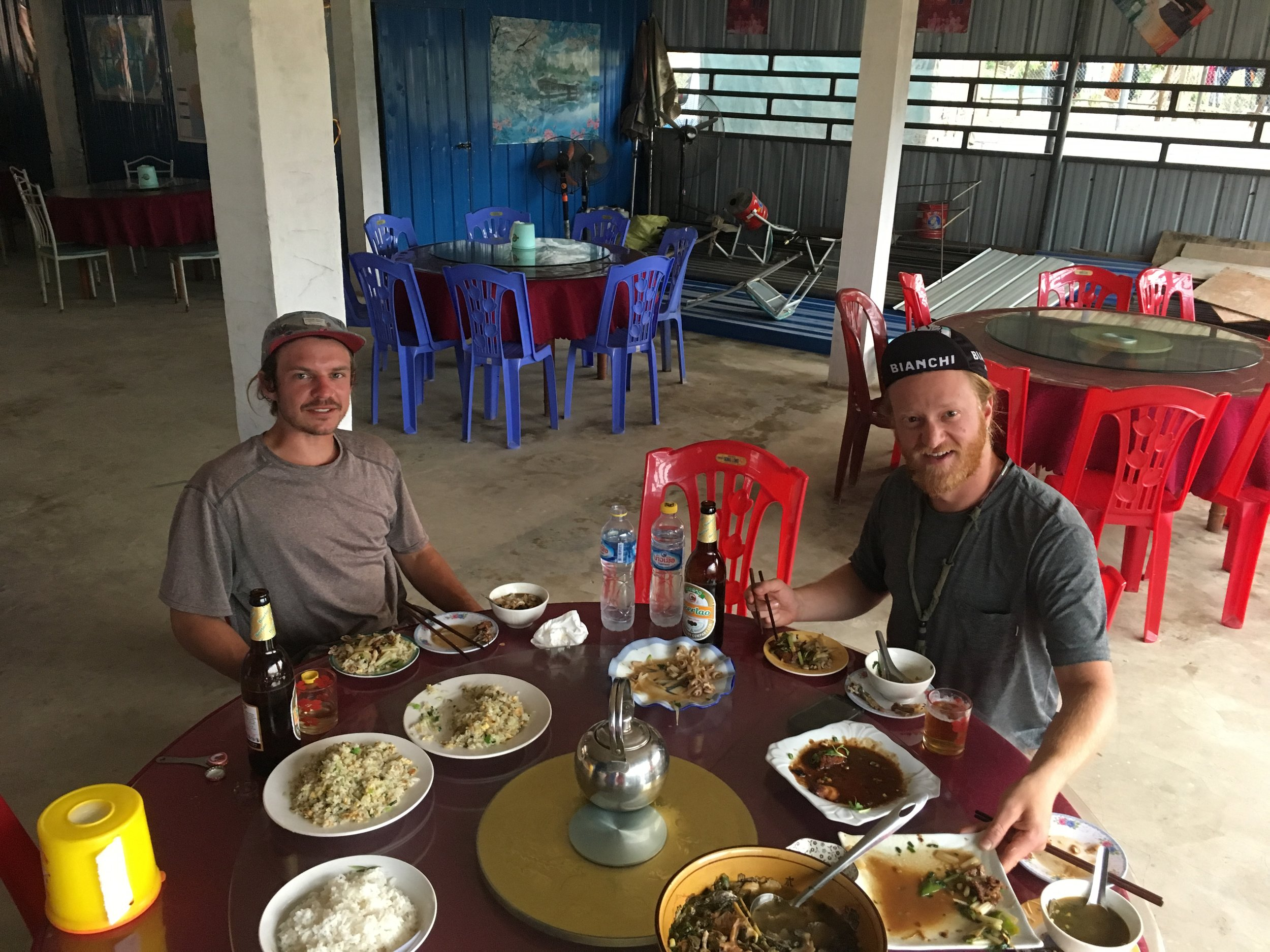 Our excellent, but very expensive restaurant in the Muang Mai which is in the middle of nowhere.