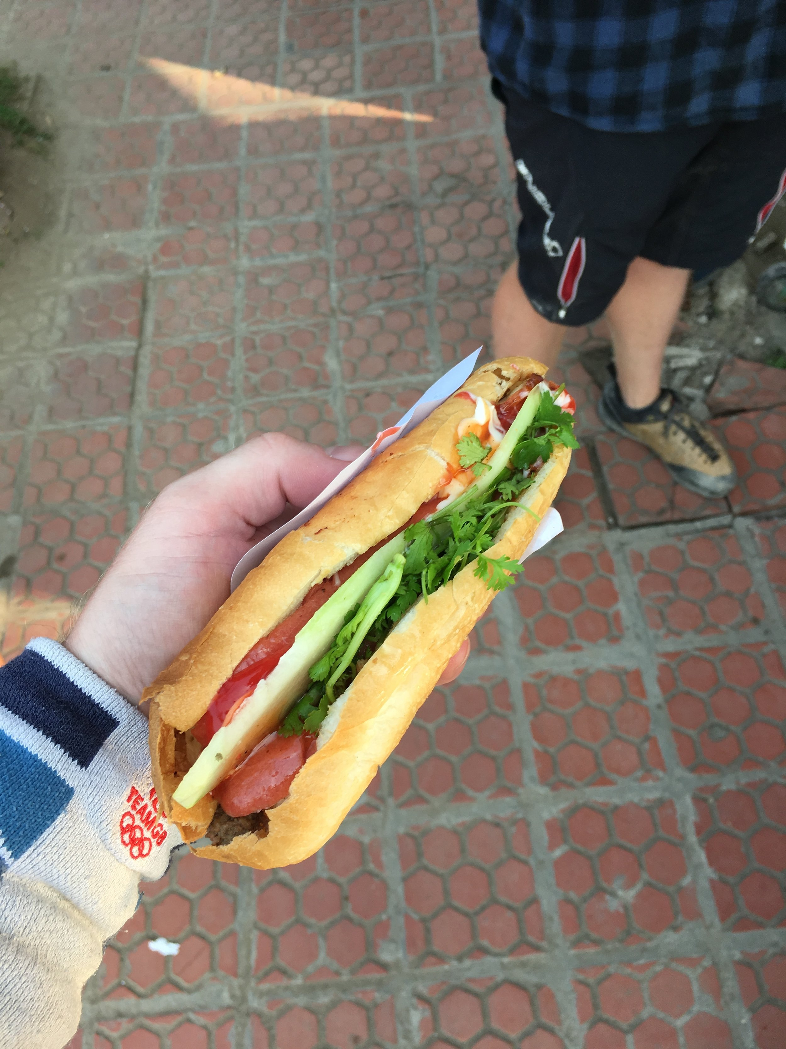 This was the first Banh Mi I had the pleasure of trying and it certainly was a culinary pleasure. My sandwiches will be forever be influenced by these simple,delicious and easy found sandwiches.