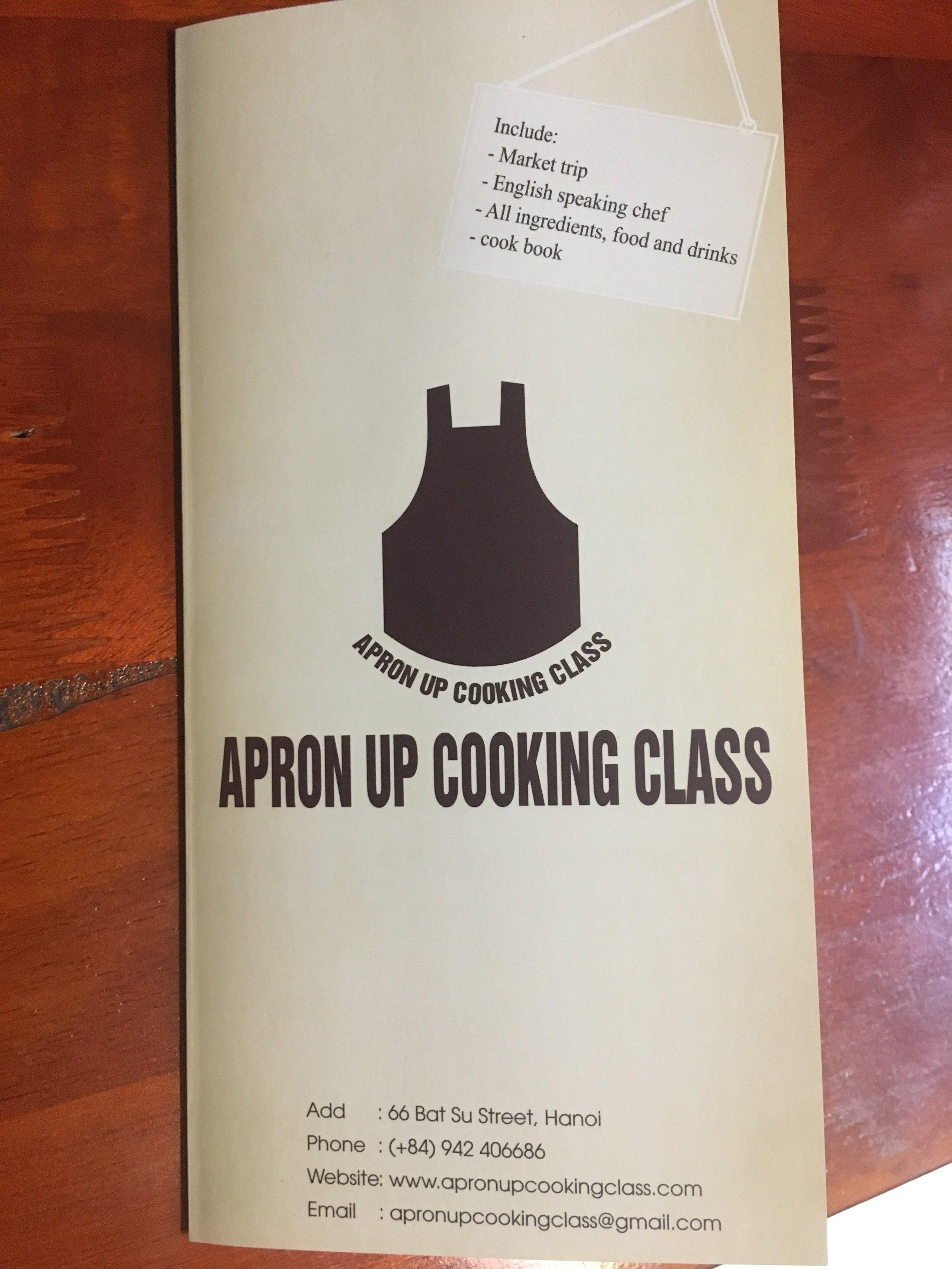 Apron Up Cookery School, Hanoi