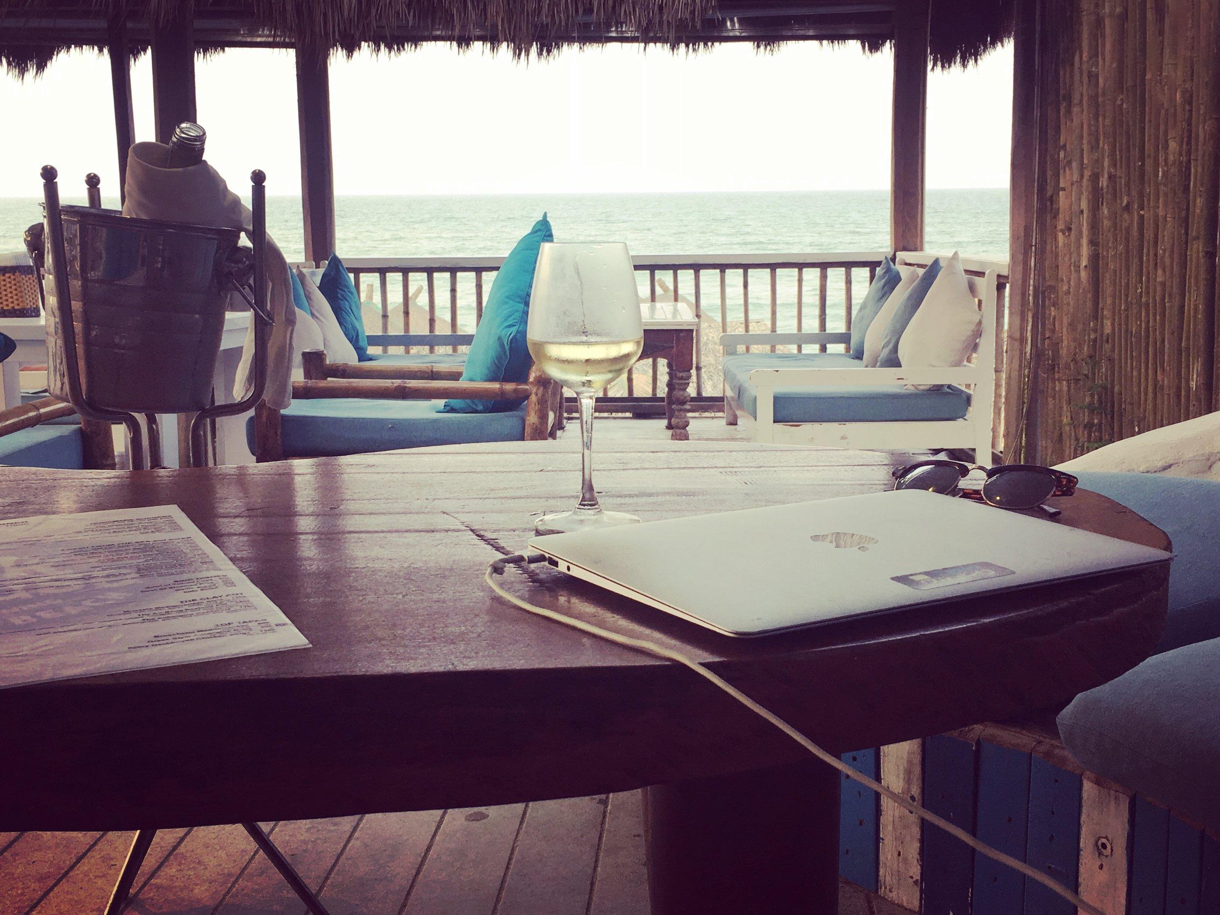 The Deck House, An Bang Beach - a rare treat.