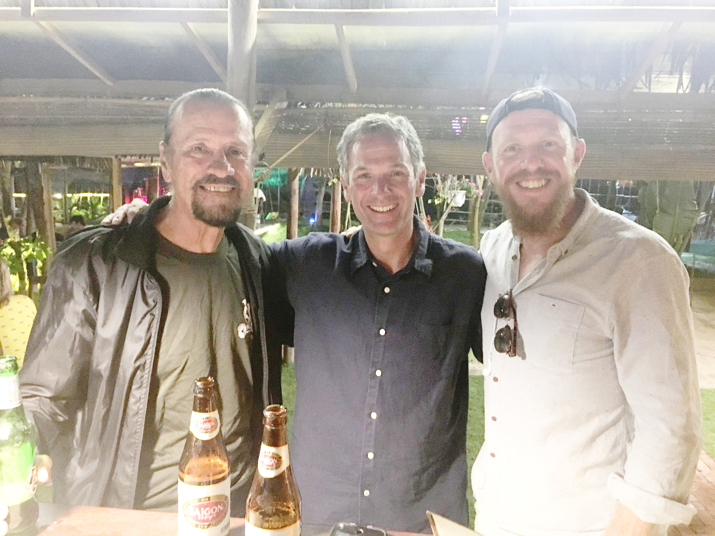 Friends - Joh, Colin & I