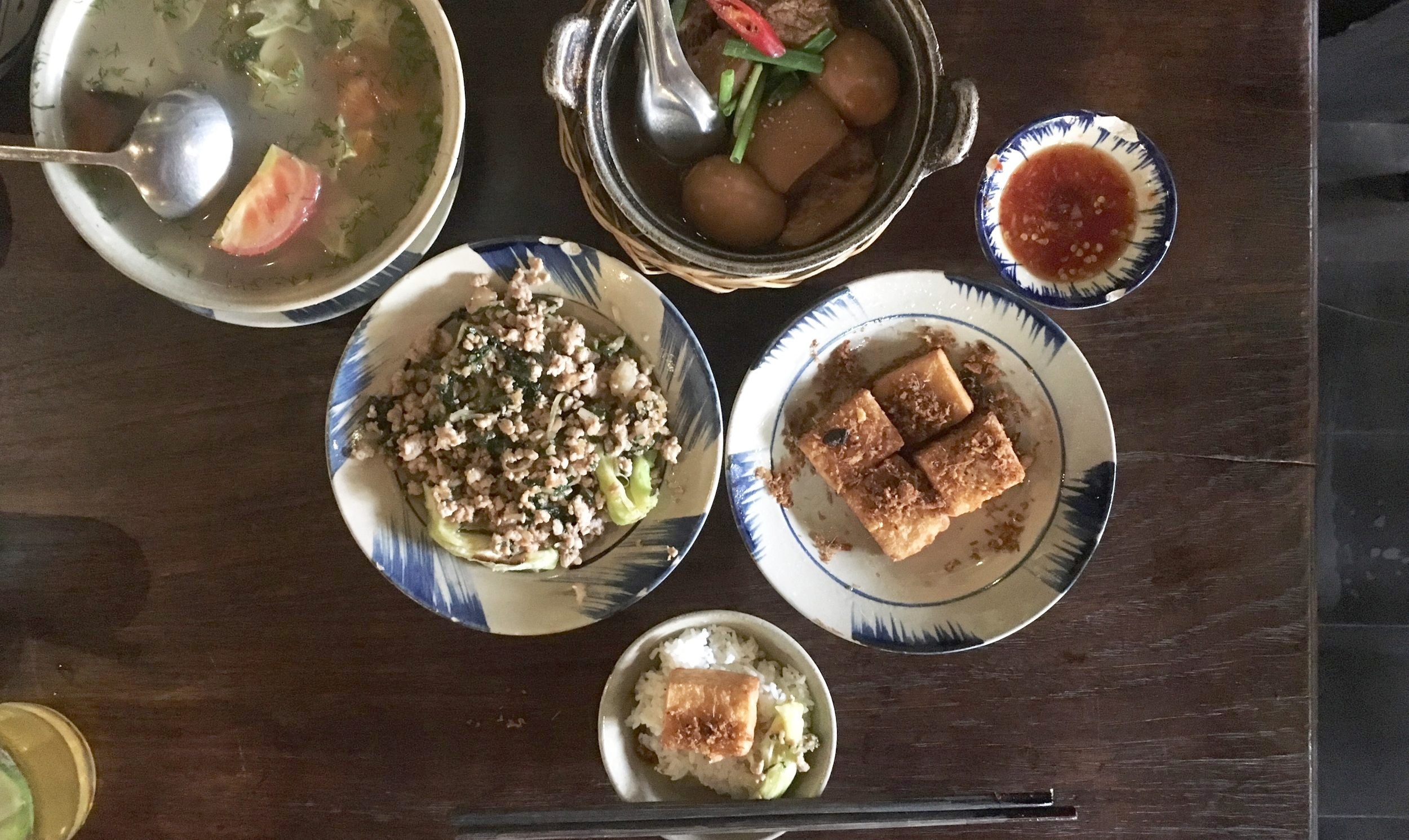 Probably my favourite meal in Ho Chi Minh City and Southern Vietnam.  I never thought I'd say it, but tofu rocks man, so delicious.