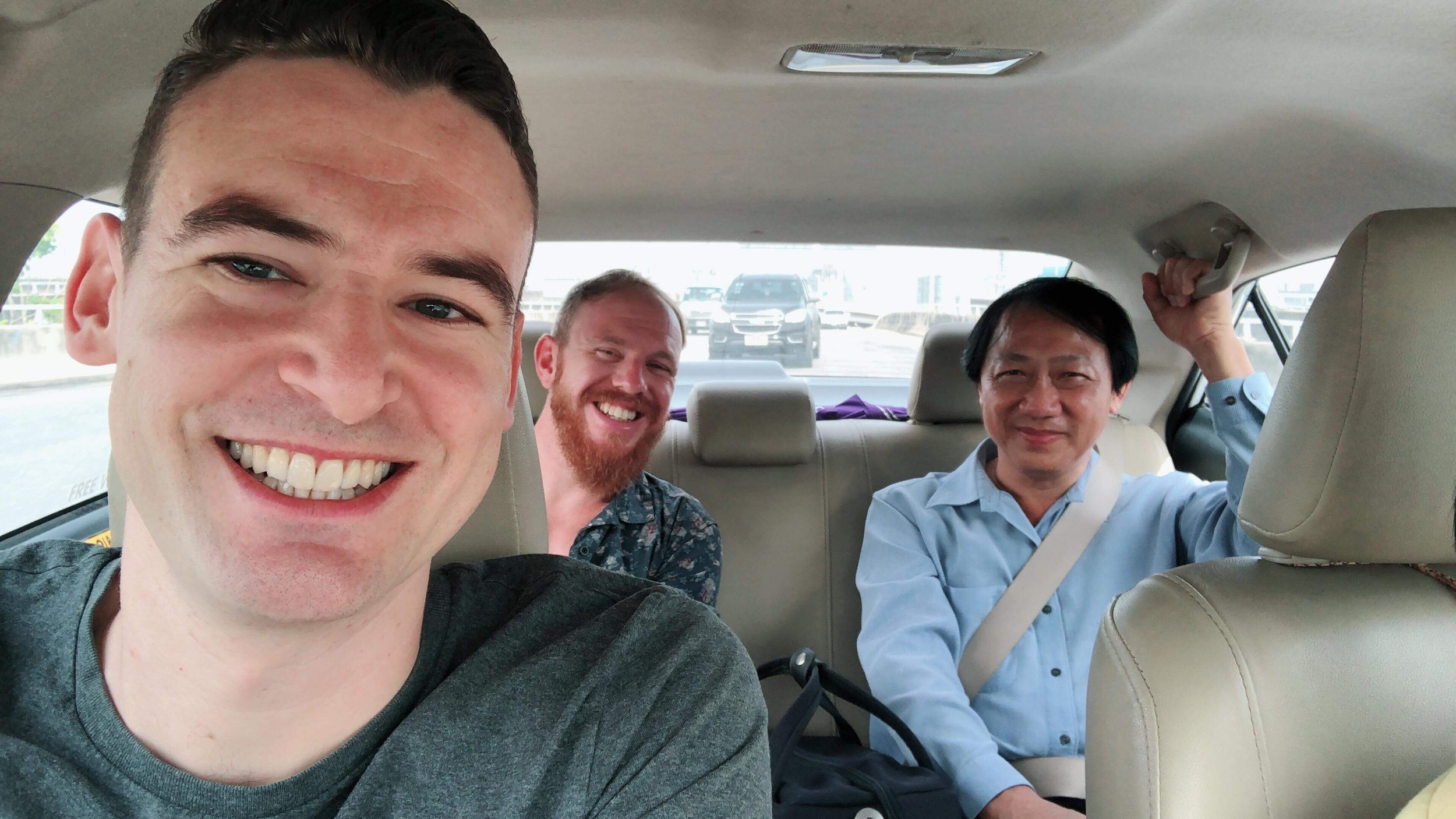 Khun Heng, Darren and I on our way back from Je Dum. I think we all had a quick nap 5 minutes after this photo and after our amazing lunch.