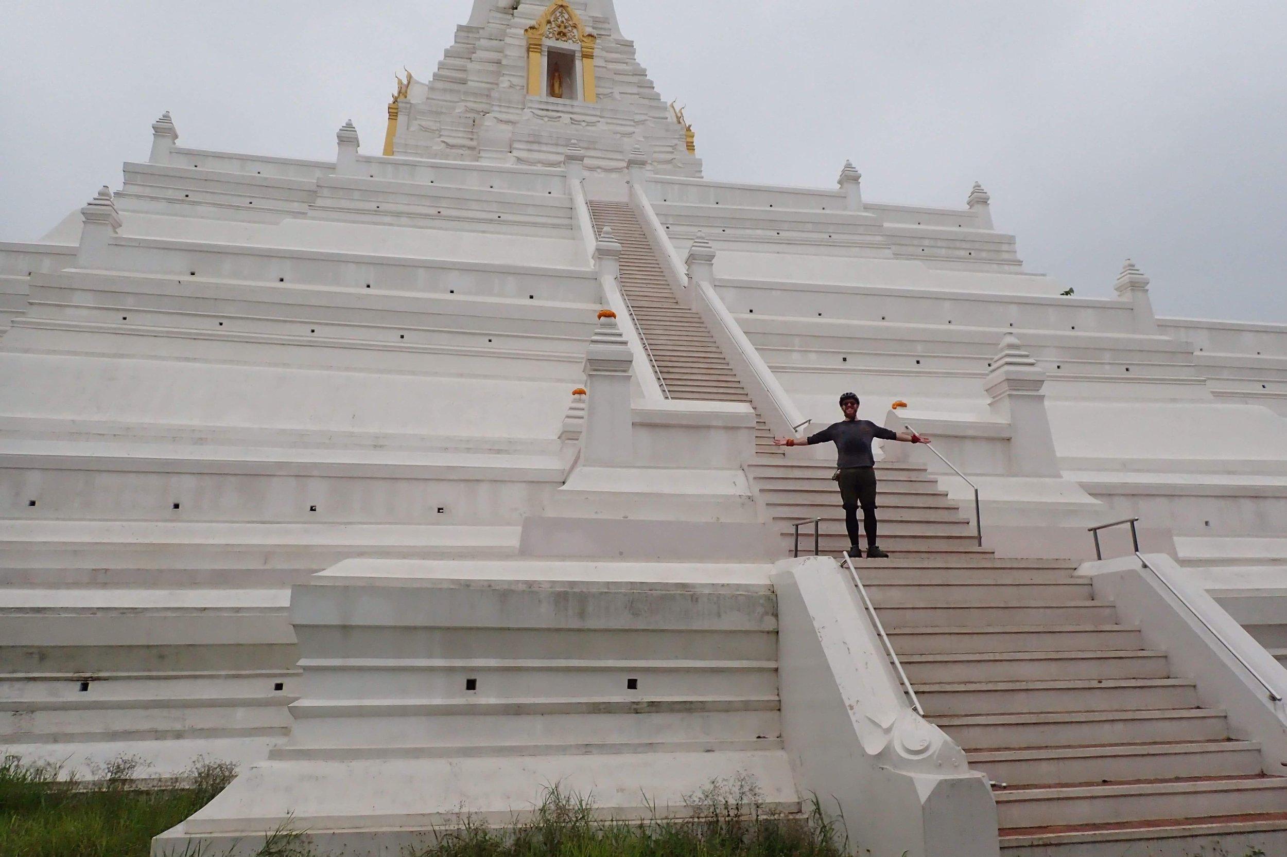 Large stupa in Ayutthaya