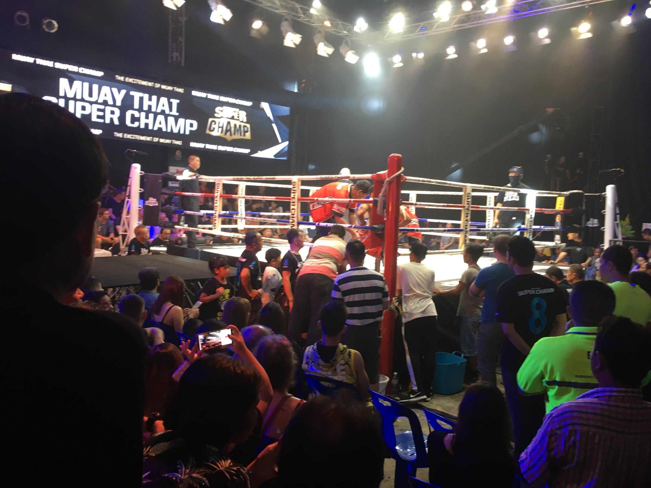 Muay Thai at Jaroenthong Muay Thai, Bangkok