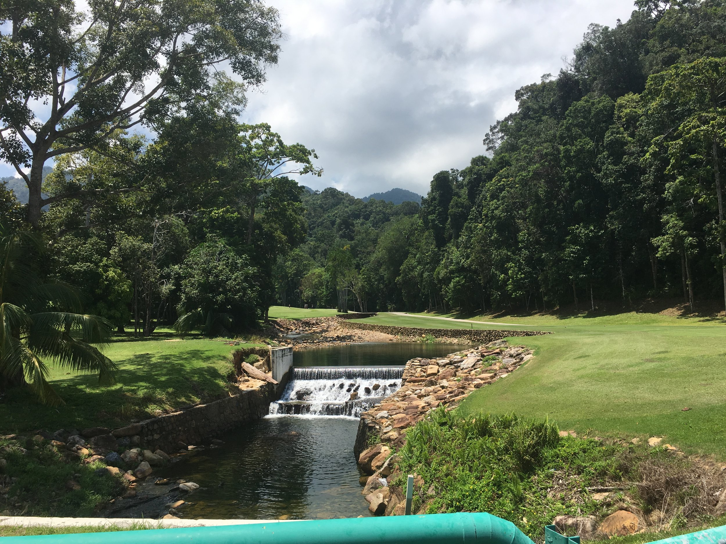The striking Els Golf Club, set in the Datai Forest
